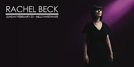 Rachel Beck tickets