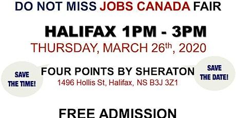 Halifax Job Fair – March 26th, 2020 tickets
