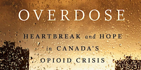 Overdose National Book Tour with Benjamin Perrin - Toronto, ON tickets