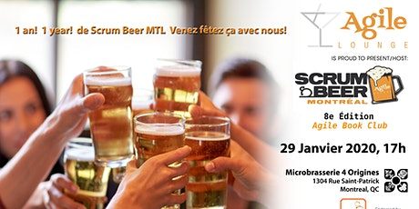 Scrum Beer Montréal #8 -  Agile Book Club tickets