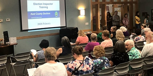 Precinct Election Inspector Training & Certification (2)