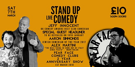 Stand up Comedy with Headliners Jeff Innocent & Special Guest tickets