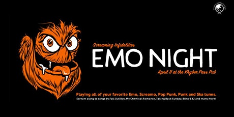 Emo Night at Khyber Pass Pub tickets