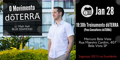 O Movimento dōTERRA - Treinamento SP 28/01 ingressos