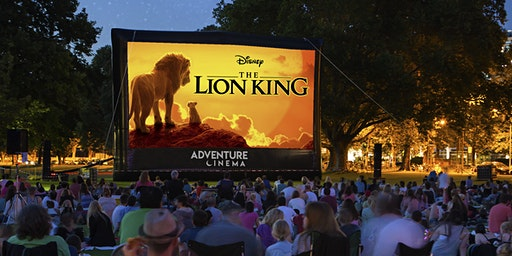 Disney The Lion King Outdoor Cinema Experience in Stafford