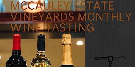 McCauley Estate Vineyards Wine Tasting  tickets