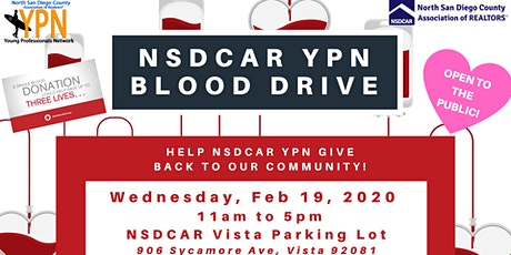 NSDCAR YPN Blood Drive tickets