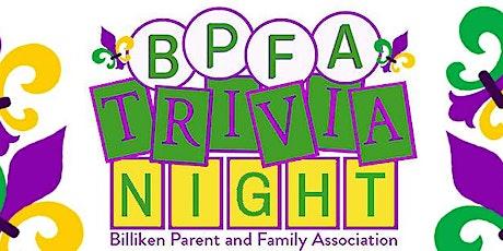 Billiken Parents and Family Association Trivia Night tickets