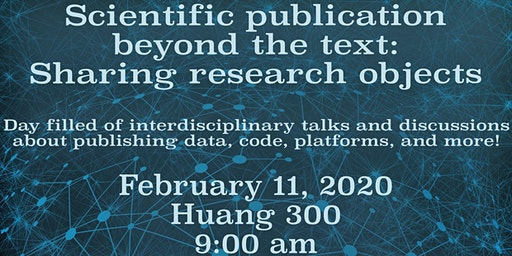 Scientific publication beyond the text: Sharing research objects