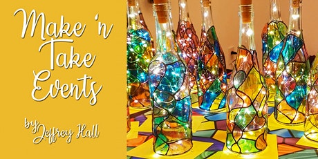Make N Take - Stained Glass Bottles - Tolino Vineyards tickets