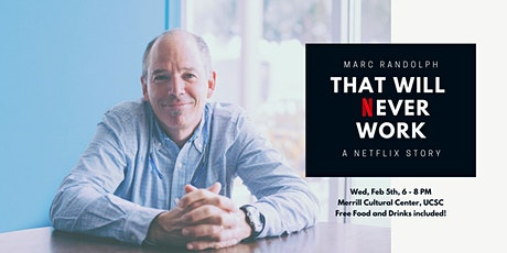 That will NEVER work Workshop with Marc Randolph tickets
