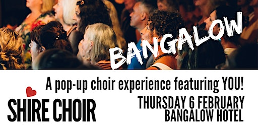 Shire Choir Bangalow - February 2020