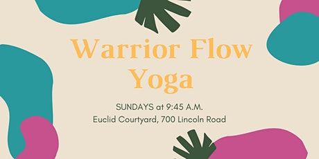 Warrior Flow Yoga (Every Sunday) tickets