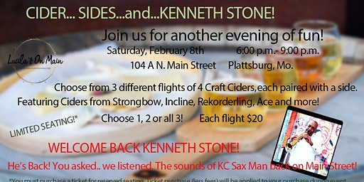 Cider, Sides, and Kenneth Stone