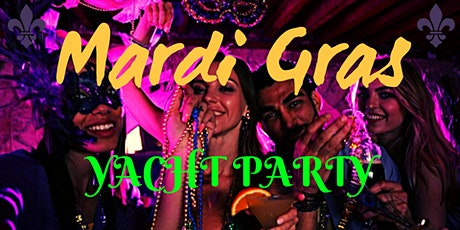 Mardi Gras Yacht Party tickets