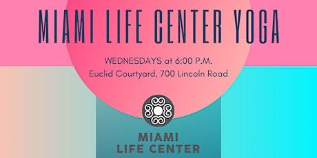 Miami Life Center Yoga (Every Wednesday) tickets