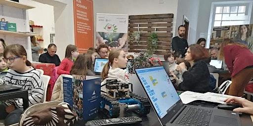 Coderdojo Voghera @ Hub Voghera: un laboratorio di robotica