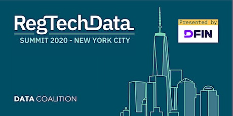 RegTech Data Summit 2020 tickets