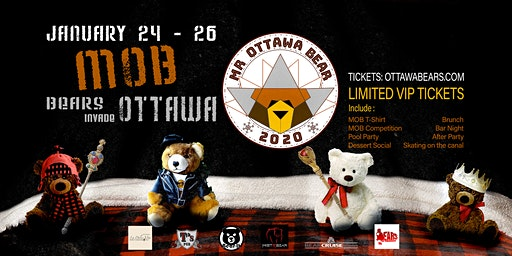 Mr Ottawa Bear 2020 Weekend