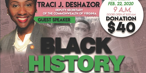 Black History Celebration Breakfast: African Americans and the Vote