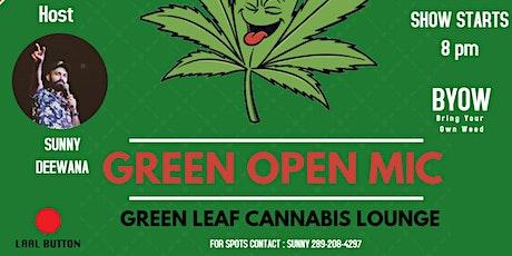 GREEN OPEN MIC #2 tickets