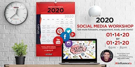 2020 Social Media Workshop 1-21-20 tickets