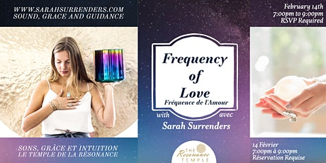 Frequency of Love tickets