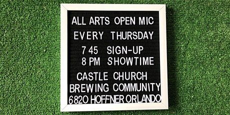 Castle Church Open Mic Thursdays tickets