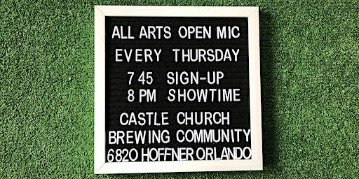 Castle Church Open Mic Thursdays