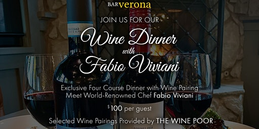 Bar Verona Commerce Township Wine Dinner with Fabio Viviani