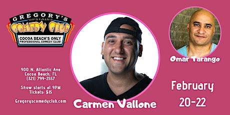 Carmen Vallone w/ Omar Tarrango 2/20-22 tickets