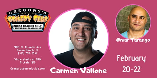 Carmen Vallone w/ Omar Tarrango 2/20-22
