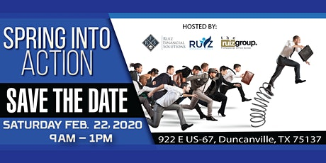 Spring Into Action 2020 Business Conference & Networking Event tickets
