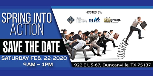 Spring Into Action 2020 Business Conference & Networking Event