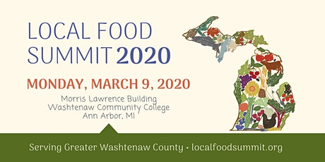 2020 Local Food Summit for Greater Washtenaw County tickets