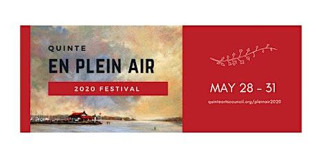 Quinte en Plein Air 2020 tickets