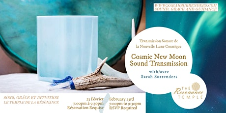 Cosmic New Moon Sound Transmission billets