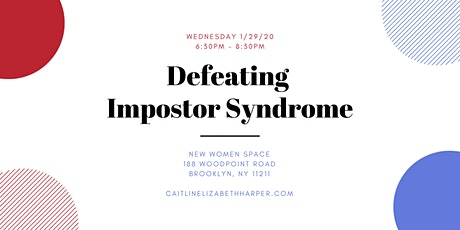 Defeating Impostor Syndrome tickets