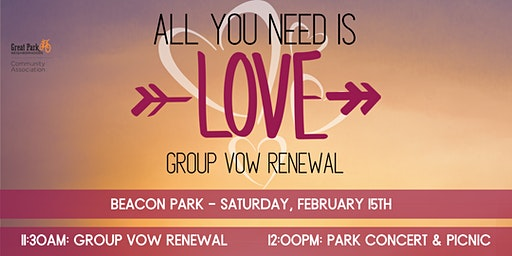 All You Need Is Love - Group Vow Renewal
