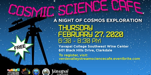 Cosmic Science Cafe