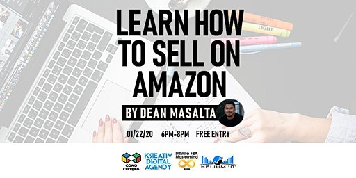 Learn How to Sell On Amazon by Dean Masalta at Cowo Campus