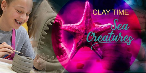 ★ CLAY PLAY: Sea Monster Sculpture workshop