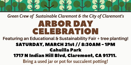 Claremont Arbor Day Celebration tickets