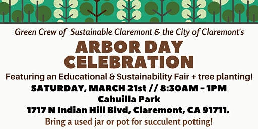 Claremont Arbor Day Celebration