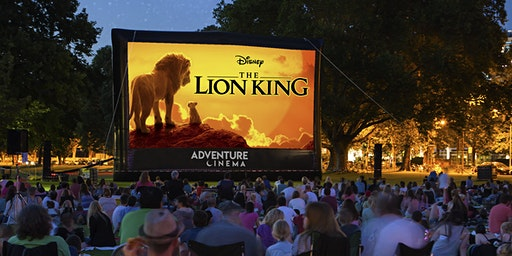 Disney The Lion King Outdoor Cinema Experience in Haverfordwest