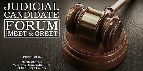 Judicial Candidate Forum and Meet & Greet tickets