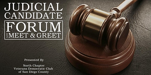 Judicial Candidate Forum and Meet & Greet