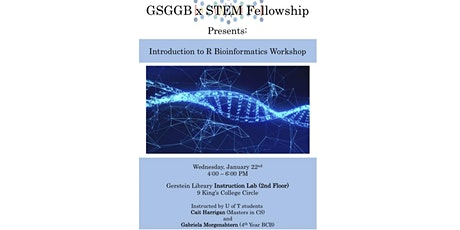 Introduction to R Bioinformatics Workshop tickets