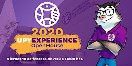 #UPYexperience 2020 boletos