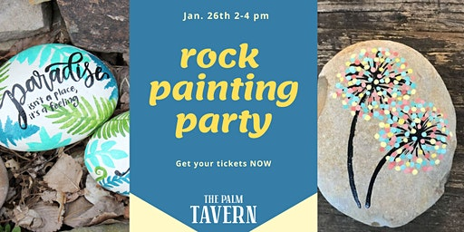 Palm Tavern Rock Painting Party